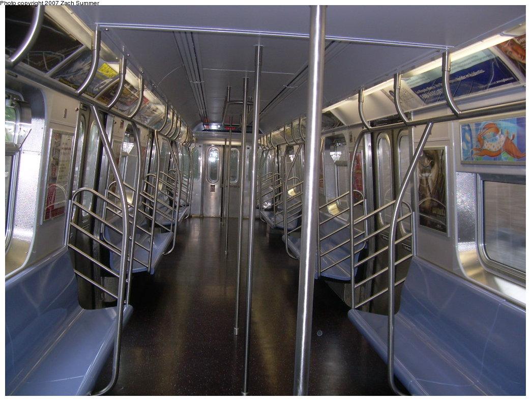 (217k, 1044x788)<br><b>Country:</b> United States<br><b>City:</b> New York<br><b>System:</b> New York City Transit<br><b>Route:</b> N<br><b>Car:</b> R-160B (Kawasaki, 2005-2008)  8723 <br><b>Photo by:</b> Zach Summer<br><b>Date:</b> 6/12/2007<br><b>Viewed (this week/total):</b> 0 / 1849