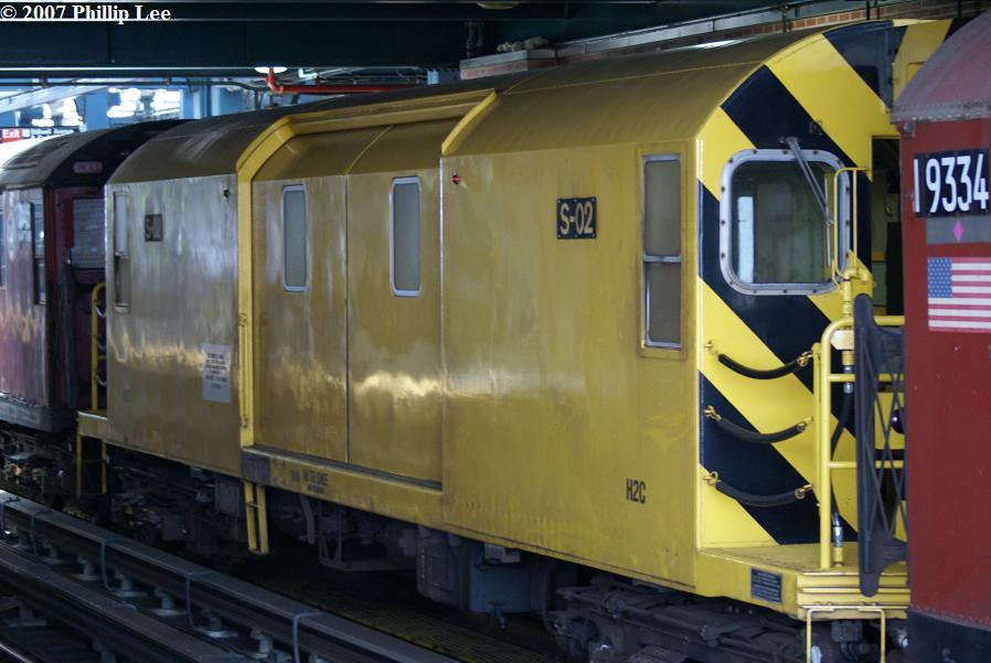 (100k, 898x601)<br><b>Country:</b> United States<br><b>City:</b> New York<br><b>System:</b> New York City Transit<br><b>Location:</b> Coney Island/Stillwell Avenue<br><b>Route:</b> Work Service<br><b>Car:</b> R-74 Signal Supply (Fuji Heavy Industries, 1984)  02 <br><b>Photo by:</b> Phillip Lee<br><b>Date:</b> 6/7/2007<br><b>Viewed (this week/total):</b> 4 / 2124