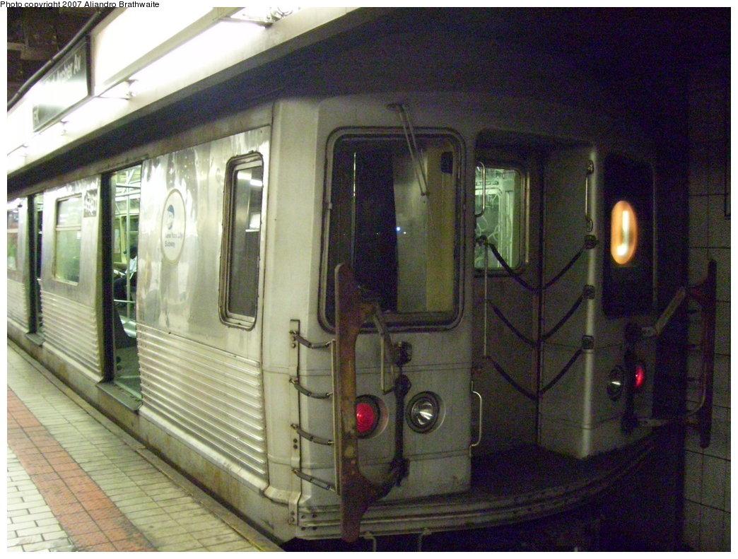 (204k, 1044x791)<br><b>Country:</b> United States<br><b>City:</b> New York<br><b>System:</b> New York City Transit<br><b>Line:</b> BMT Nassau Street/Jamaica Line<br><b>Location:</b> Sutphin Blvd.-Archer Ave./JFK <br><b>Route:</b> J<br><b>Car:</b> R-42 (St. Louis, 1969-1970)  4702 <br><b>Photo by:</b> Aliandro Brathwaite<br><b>Date:</b> 6/28/2007<br><b>Viewed (this week/total):</b> 4 / 2362