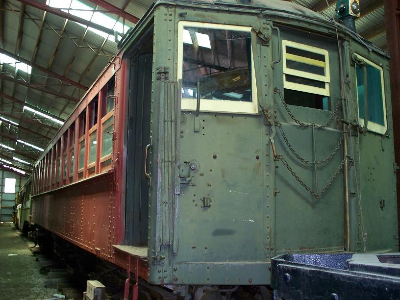 (105k, 816x612)<br><b>Country:</b> United States<br><b>City:</b> Kennebunk, ME<br><b>System:</b> Seashore Trolley Museum <br><b>Car:</b> Hi-V 3352 <br><b>Photo by:</b> Frank Hicks<br><b>Date:</b> 6/24/2007<br><b>Viewed (this week/total):</b> 0 / 1333