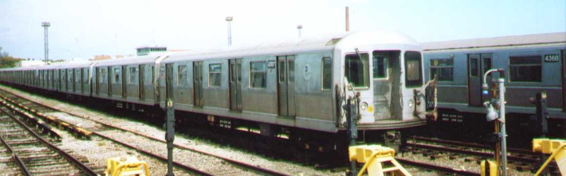 (114k, 1157x360)<br><b>Country:</b> United States<br><b>City:</b> New York<br><b>System:</b> New York City Transit<br><b>Location:</b> Coney Island Yard<br><b>Car:</b> R-42 (St. Louis, 1969-1970)  4787 <br><b>Photo by:</b> Bob Wright<br><b>Date:</b> 9/22/2002<br><b>Viewed (this week/total):</b> 0 / 1350
