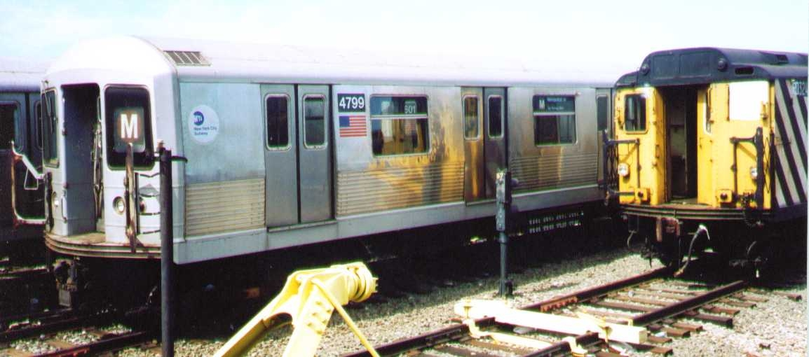 (177k, 1154x510)<br><b>Country:</b> United States<br><b>City:</b> New York<br><b>System:</b> New York City Transit<br><b>Location:</b> Coney Island Yard<br><b>Car:</b> R-42 (St. Louis, 1969-1970)  4799 <br><b>Photo by:</b> Bob Wright<br><b>Date:</b> 9/22/2002<br><b>Viewed (this week/total):</b> 0 / 1515