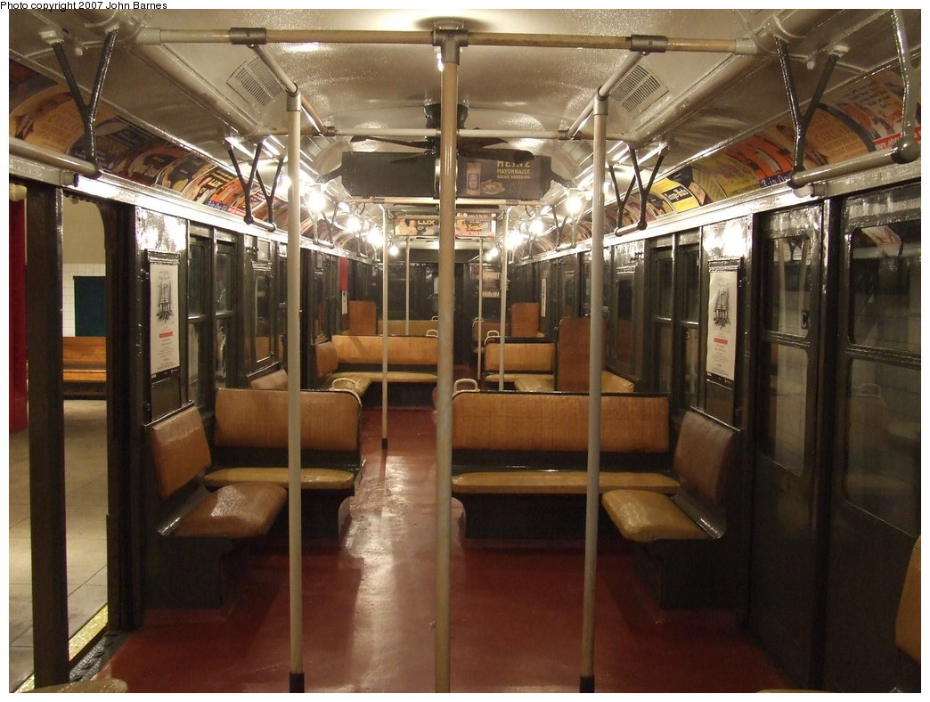 (185k, 1044x788)<br><b>Country:</b> United States<br><b>City:</b> New York<br><b>System:</b> New York City Transit<br><b>Location:</b> New York Transit Museum<br><b>Car:</b> BMT A/B-Type Standard 2204 <br><b>Photo by:</b> John Barnes<br><b>Date:</b> 7/19/2007<br><b>Viewed (this week/total):</b> 2 / 2283