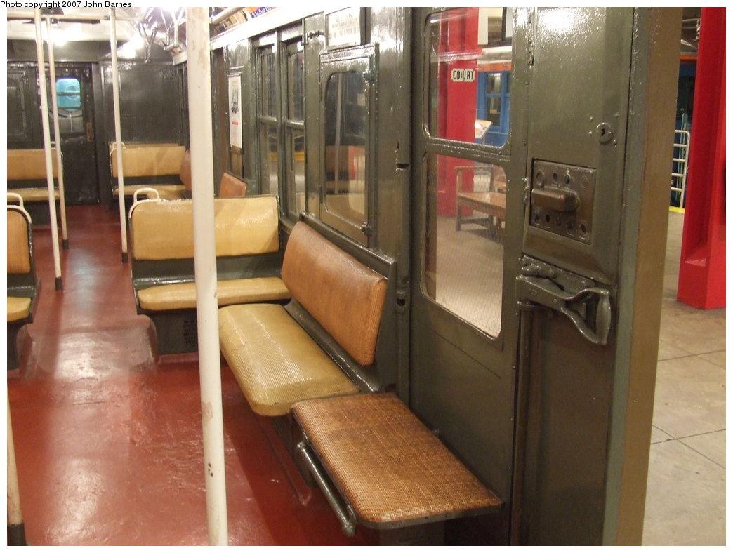 (165k, 1044x788)<br><b>Country:</b> United States<br><b>City:</b> New York<br><b>System:</b> New York City Transit<br><b>Location:</b> New York Transit Museum<br><b>Car:</b> BMT A/B-Type Standard 2204 <br><b>Photo by:</b> John Barnes<br><b>Date:</b> 7/19/2007<br><b>Viewed (this week/total):</b> 3 / 2296