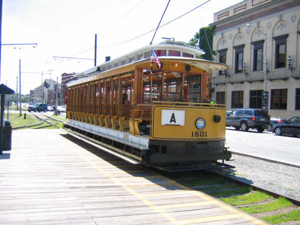 (47k, 600x450)<br><b>Country:</b> United States<br><b>City:</b> Lowell, MA<br><b>System:</b> National Streetcar Museum at Lowell <br><b>Car:</b>  1601 <br><b>Photo by:</b> Professor J<br><b>Date:</b> 7/13/2007<br><b>Viewed (this week/total):</b> 0 / 1648