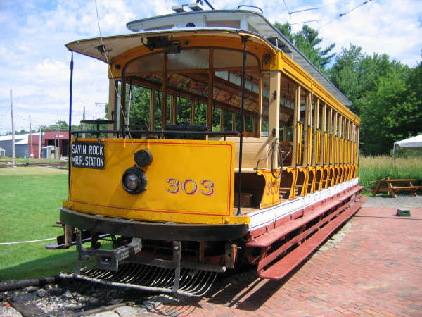(58k, 600x450)<br><b>Country:</b> United States<br><b>City:</b> Lowell, MA<br><b>System:</b> National Streetcar Museum at Lowell <br><b>Car:</b>  303 <br><b>Photo by:</b> Professor J<br><b>Date:</b> 7/13/2007<br><b>Viewed (this week/total):</b> 1 / 1487