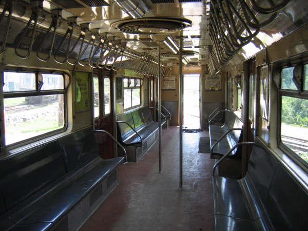 (47k, 600x450)<br><b>Country:</b> United States<br><b>City:</b> Kennebunk, ME<br><b>System:</b> Seashore Trolley Museum <br><b>Car:</b> R-33 World's Fair (St. Louis, 1963-64) 9327 <br><b>Photo by:</b> Professor J<br><b>Date:</b> 7/14/2007<br><b>Viewed (this week/total):</b> 0 / 1628