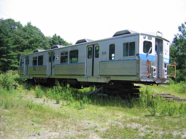 (49k, 600x450)<br><b>Country:</b> United States<br><b>City:</b> Kennebunk, ME<br><b>System:</b> Seashore Trolley Museum <br><b>Car:</b> SEPTA M-3 (Budd, 1960) 618 <br><b>Photo by:</b> Professor J<br><b>Date:</b> 7/14/2007<br><b>Viewed (this week/total):</b> 2 / 1715