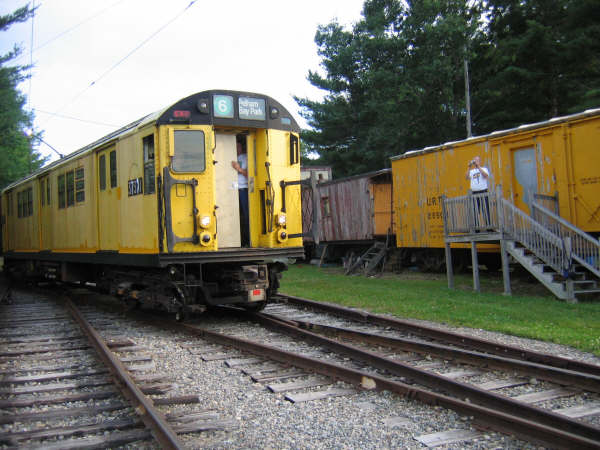(50k, 600x450)<br><b>Country:</b> United States<br><b>City:</b> Kennebunk, ME<br><b>System:</b> Seashore Trolley Museum <br><b>Car:</b> R-22 (St. Louis, 1957-58) 37371 <br><b>Photo by:</b> Professor J<br><b>Date:</b> 7/14/2007<br><b>Viewed (this week/total):</b> 3 / 1210