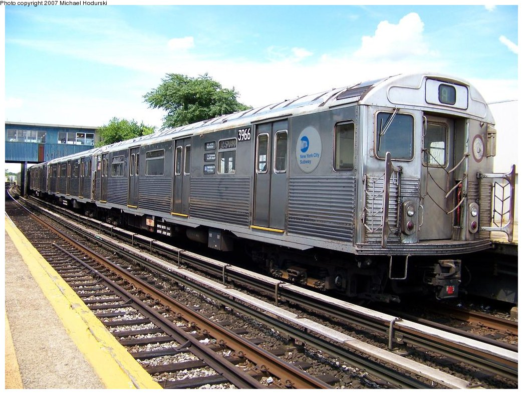 (247k, 1044x788)<br><b>Country:</b> United States<br><b>City:</b> New York<br><b>System:</b> New York City Transit<br><b>Line:</b> IND Rockaway<br><b>Location:</b> Broad Channel <br><b>Route:</b> A<br><b>Car:</b> R-38 (St. Louis, 1966-1967)  3966 <br><b>Photo by:</b> Michael Hodurski<br><b>Date:</b> 7/22/2007<br><b>Viewed (this week/total):</b> 0 / 1725