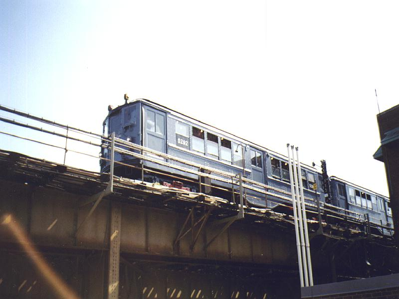 (63k, 800x600)<br><b>Country:</b> United States<br><b>City:</b> New York<br><b>System:</b> New York City Transit<br><b>Location:</b> Westchester Yard<br><b>Car:</b> Low-V (Museum Train) 5292 <br><b>Photo by:</b> Constantine Steffan<br><b>Date:</b> 9/12/1998<br><b>Notes:</b> on yard lead<br><b>Viewed (this week/total):</b> 0 / 2620