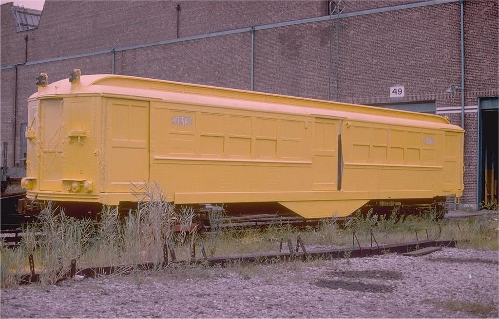 (221k, 1024x656)<br><b>Country:</b> United States<br><b>City:</b> New York<br><b>System:</b> New York City Transit<br><b>Location:</b> Coney Island Yard<br><b>Car:</b> Low-V 20360 (ex-5420)<br><b>Photo by:</b> Doug Grotjahn<br><b>Collection of:</b> Joe Testagrose<br><b>Viewed (this week/total):</b> 6 / 4553