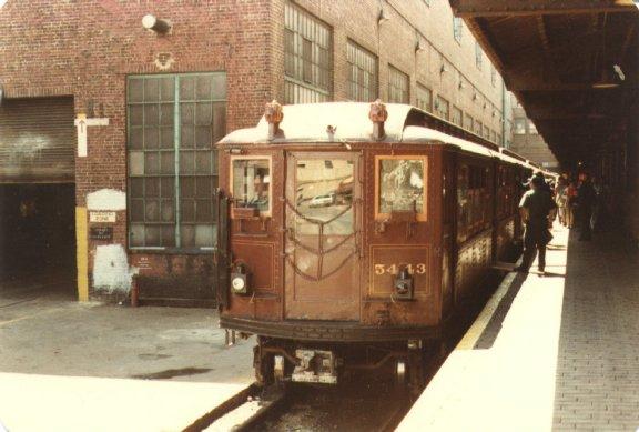 (47k, 576x389)<br><b>Country:</b> United States<br><b>City:</b> New York<br><b>System:</b> New York City Transit<br><b>Location:</b> 207th Street Yard<br><b>Car:</b> Low-V (Museum Train) 5443 <br><b>Photo by:</b> Joel G.<br><b>Date:</b> 9/13/1979<br><b>Viewed (this week/total):</b> 1 / 2919