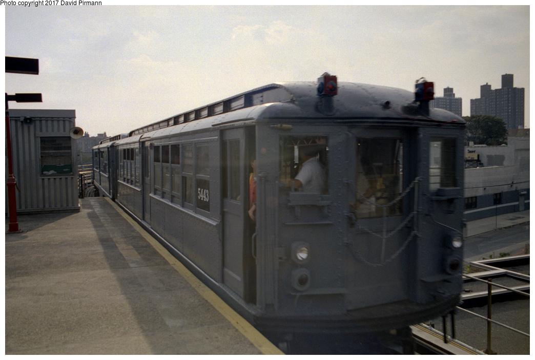 (331k, 1044x703)<br><b>Country:</b> United States<br><b>City:</b> New York<br><b>System:</b> New York City Transit<br><b>Line:</b> IRT White Plains Road Line<br><b>Location:</b> East 180th Street <br><b>Route:</b> Fan Trip<br><b>Car:</b> Low-V (Museum Train) 5443 <br><b>Photo by:</b> David Pirmann<br><b>Date:</b> 9/13/1998<br><b>Viewed (this week/total):</b> 0 / 2536
