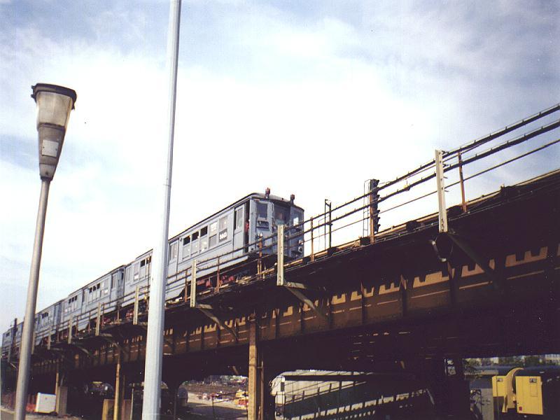 (69k, 800x600)<br><b>Country:</b> United States<br><b>City:</b> New York<br><b>System:</b> New York City Transit<br><b>Location:</b> Westchester Yard<br><b>Car:</b> Low-V (Museum Train) 5443 <br><b>Photo by:</b> Constantine Steffan<br><b>Date:</b> 9/12/1998<br><b>Viewed (this week/total):</b> 1 / 2622