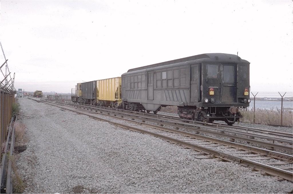 (200k, 1024x678)<br><b>Country:</b> United States<br><b>City:</b> New York<br><b>System:</b> New York City Transit<br><b>Line:</b> IND Rockaway<br><b>Location:</b> Jamaica Bay Crossing<br><b>Car:</b> Low-V RD319 (ex-5451)<br><b>Photo by:</b> Steve Zabel<br><b>Collection of:</b> Joe Testagrose<br><b>Date:</b> 11/1/1975<br><b>Viewed (this week/total):</b> 0 / 5279