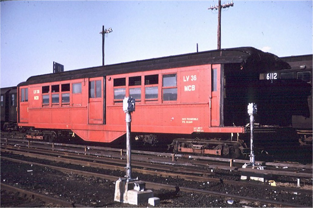 (159k, 1024x682)<br><b>Country:</b> United States<br><b>City:</b> New York<br><b>System:</b> New York City Transit<br><b>Location:</b> Coney Island Yard<br><b>Car:</b> Low-V LV36 (ex-5457)<br><b>Photo by:</b> Steve Zabel<br><b>Collection of:</b> Joe Testagrose<br><b>Date:</b> 4/9/1972<br><b>Viewed (this week/total):</b> 0 / 3586