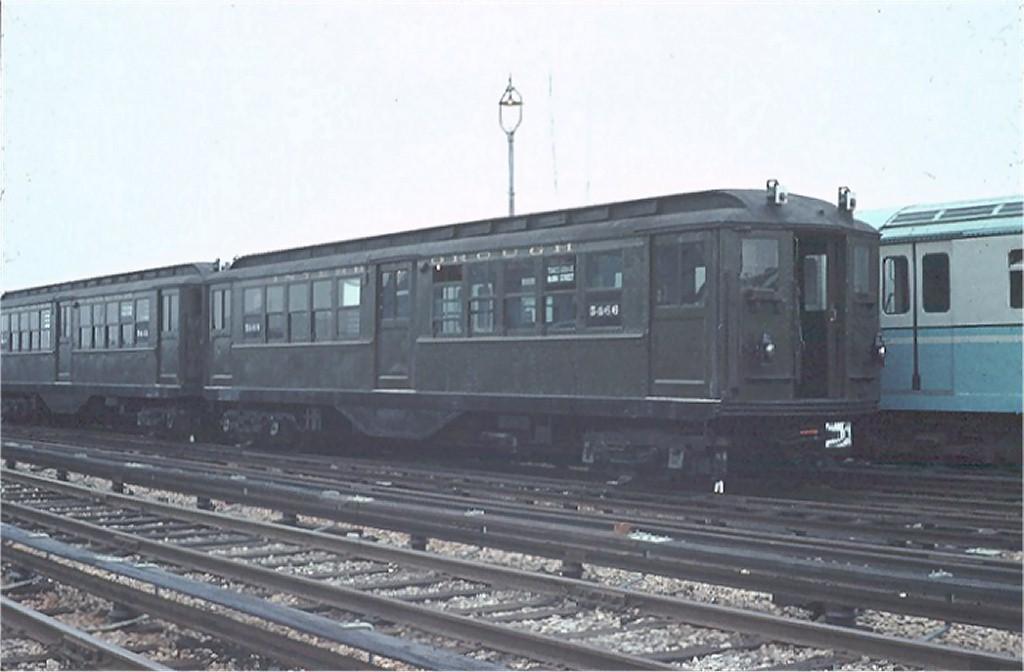 (127k, 1024x672)<br><b>Country:</b> United States<br><b>City:</b> New York<br><b>System:</b> New York City Transit<br><b>Location:</b> Corona Yard<br><b>Car:</b> Low-V (Museum Train) 5466 <br><b>Photo by:</b> Joel Shanus<br><b>Collection of:</b> Joe Testagrose<br><b>Date:</b> 7/22/1965<br><b>Viewed (this week/total):</b> 0 / 2614