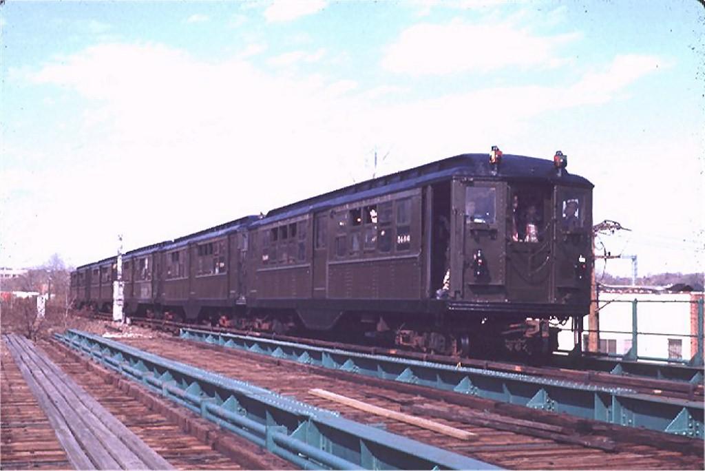 (133k, 1024x684)<br><b>Country:</b> United States<br><b>City:</b> New York<br><b>System:</b> New York City Transit<br><b>Line:</b> IRT Dyre Ave. Line<br><b>Location:</b> North of Dyre Avenue<br><b>Route:</b> Fan Trip<br><b>Car:</b> Low-V (Museum Train) 5466 <br><b>Photo by:</b> Joe Testagrose<br><b>Date:</b> 4/25/1970<br><b>Viewed (this week/total):</b> 0 / 2765