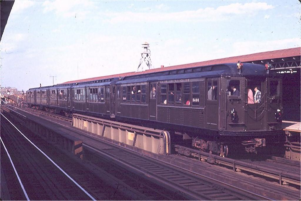 (158k, 1024x684)<br><b>Country:</b> United States<br><b>City:</b> New York<br><b>System:</b> New York City Transit<br><b>Line:</b> IRT West Side Line<br><b>Location:</b> 238th Street <br><b>Route:</b> Fan Trip<br><b>Car:</b> Low-V (Museum Train) 5466 <br><b>Photo by:</b> Joe Testagrose<br><b>Date:</b> 4/25/1970<br><b>Viewed (this week/total):</b> 1 / 2509