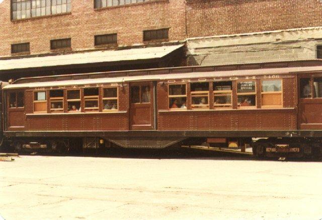 (62k, 640x436)<br><b>Country:</b> United States<br><b>City:</b> New York<br><b>System:</b> New York City Transit<br><b>Location:</b> 207th Street Yard<br><b>Car:</b> Low-V (Museum Train) 5466 <br><b>Photo by:</b> Joel G.<br><b>Date:</b> 9/13/1979<br><b>Viewed (this week/total):</b> 0 / 2517