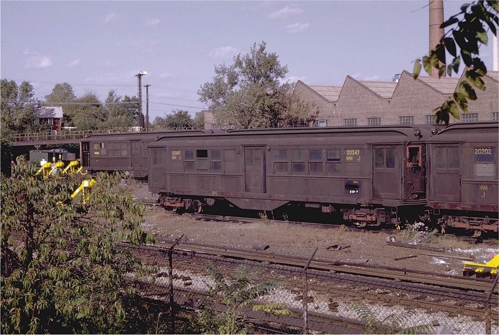 (274k, 1024x688)<br><b>Country:</b> United States<br><b>City:</b> New York<br><b>System:</b> New York City Transit<br><b>Location:</b> Westchester Yard<br><b>Car:</b> Low-V 20347 (ex-5571)<br><b>Photo by:</b> Joe Testagrose<br><b>Date:</b> 10/18/1969<br><b>Notes:</b> Work Motor 20347<br><b>Viewed (this week/total):</b> 0 / 2893