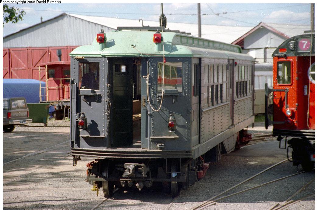 (210k, 1044x698)<br><b>Country:</b> United States<br><b>City:</b> East Haven/Branford, Ct.<br><b>System:</b> Shore Line Trolley Museum <br><b>Car:</b> Low-V (Museum Train) 5466 <br><b>Photo by:</b> David Pirmann<br><b>Date:</b> 10/5/1996<br><b>Viewed (this week/total):</b> 3 / 5580