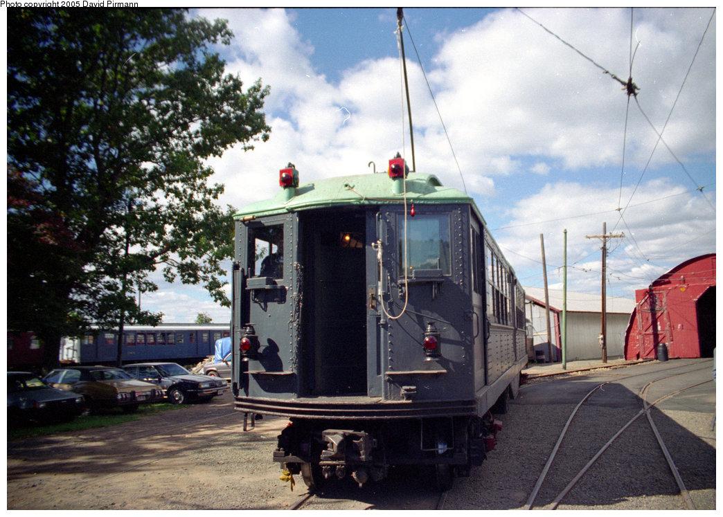 (237k, 1044x747)<br><b>Country:</b> United States<br><b>City:</b> East Haven/Branford, Ct.<br><b>System:</b> Shore Line Trolley Museum <br><b>Car:</b> Low-V (Museum Train) 5466 <br><b>Photo by:</b> David Pirmann<br><b>Date:</b> 10/5/1996<br><b>Viewed (this week/total):</b> 0 / 1844