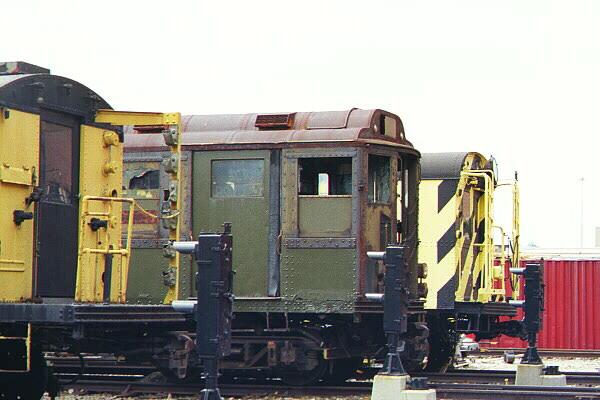 (99k, 600x400)<br><b>Country:</b> United States<br><b>City:</b> New York<br><b>System:</b> New York City Transit<br><b>Location:</b> Coney Island Yard-Museum Yard<br><b>Car:</b> Low-V Worlds Fair 5655 <br><b>Photo by:</b> Salaam Allah<br><b>Date:</b> 10/29/2000<br><b>Viewed (this week/total):</b> 2 / 3992