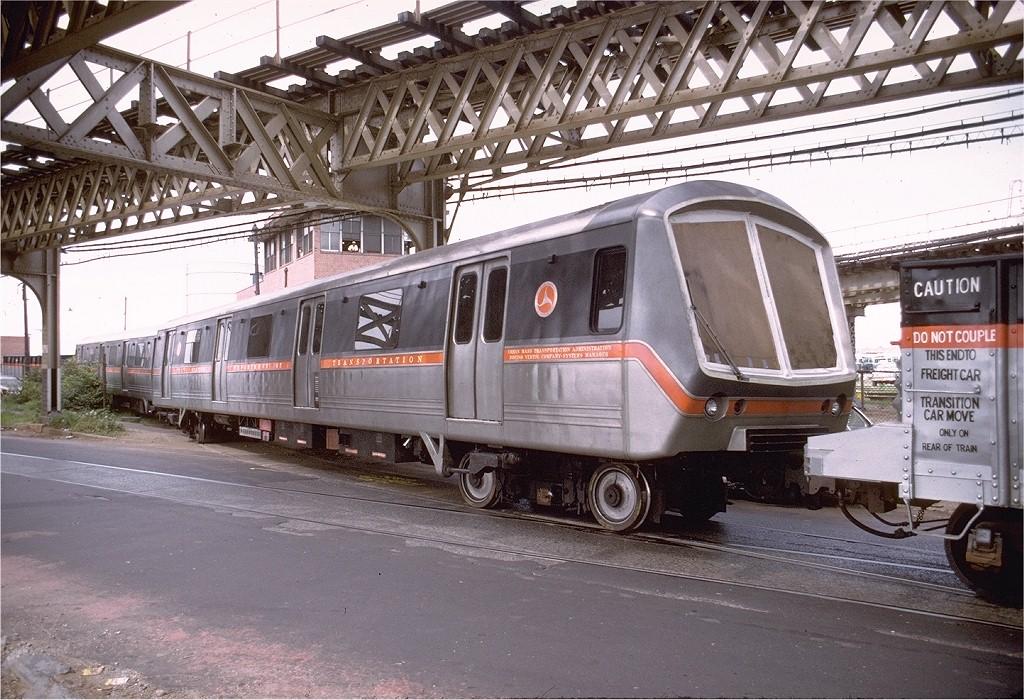 (251k, 1024x700)<br><b>Country:</b> United States<br><b>City:</b> New York<br><b>System:</b> New York City Transit<br><b>Line:</b> South Brooklyn Railway<br><b>Location:</b> McDonald/Ave X (SBK)<br><b>Car:</b> SOAC  <br><b>Photo by:</b> Joe Testagrose<br><b>Date:</b> 7/23/1974<br><b>Notes:</b> SOAC departing NYCT property.<br><b>Viewed (this week/total):</b> 1 / 15859