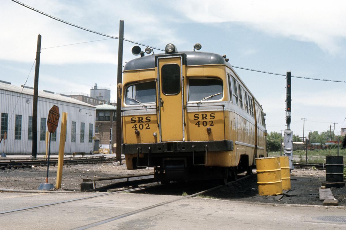 (334k, 1024x683)<br><b>Country:</b> United States<br><b>City:</b> New York<br><b>System:</b> New York City Transit<br><b>Location:</b> Coney Island Yard<br><b>Car:</b> Sperry Rail Service  402 <br><b>Collection of:</b> David Pirmann<br><b>Viewed (this week/total):</b> 3 / 5305