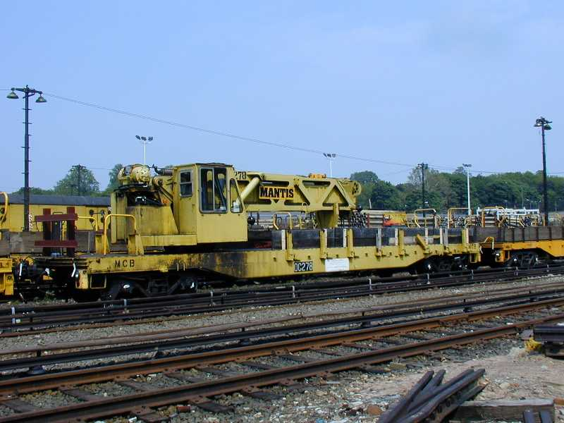 (55k, 800x600)<br><b>Country:</b> United States<br><b>City:</b> New York<br><b>System:</b> New York City Transit<br><b>Location:</b> 36th Street Yard<br><b>Car:</b> R-102 Crane Car  278 <br><b>Photo by:</b> Jeff Erlitz<br><b>Date:</b> 5/27/2002<br><b>Viewed (this week/total):</b> 0 / 4172
