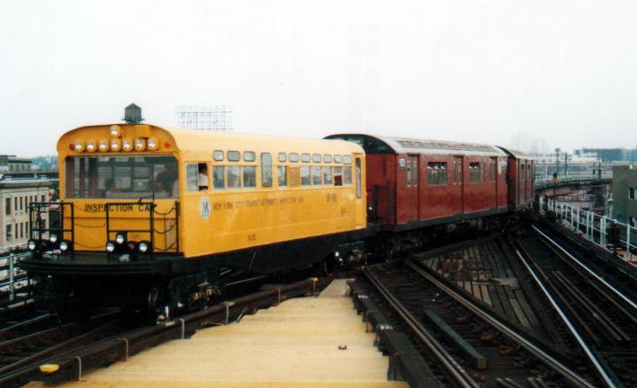 (39k, 708x432)<br><b>Country:</b> United States<br><b>City:</b> New York<br><b>System:</b> New York City Transit<br><b>Line:</b> IRT Flushing Line<br><b>Location:</b> Queensborough Plaza<br><b>Route:</b> Fan Trip<br><b>Car:</b> Observation Car 0F116 <br><b>Photo by:</b> Peter Farrell<br><b>Date:</b> 8/27/2000<br><b>Viewed (this week/total):</b> 0 / 6677