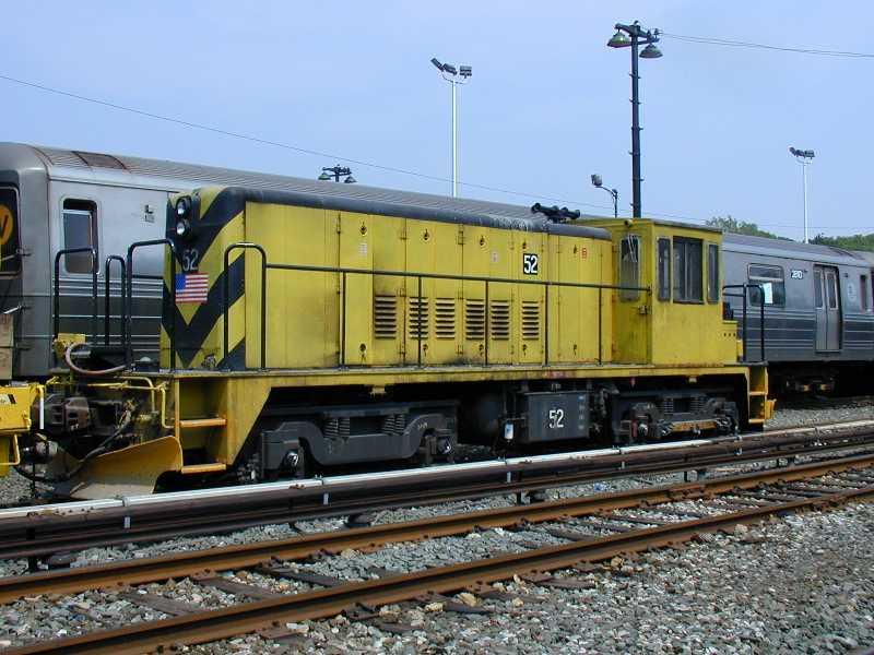 (62k, 800x600)<br><b>Country:</b> United States<br><b>City:</b> New York<br><b>System:</b> New York City Transit<br><b>Location:</b> 36th Street Yard<br><b>Car:</b> R-37 Locomotive  52 <br><b>Photo by:</b> Jeff Erlitz<br><b>Date:</b> 5/27/2002<br><b>Viewed (this week/total):</b> 1 / 3638