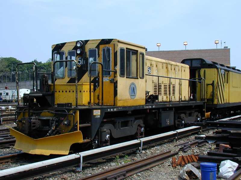 (57k, 800x600)<br><b>Country:</b> United States<br><b>City:</b> New York<br><b>System:</b> New York City Transit<br><b>Location:</b> 36th Street Yard<br><b>Car:</b> R-41 Locomotive  56 <br><b>Photo by:</b> Jeff Erlitz<br><b>Date:</b> 5/27/2002<br><b>Viewed (this week/total):</b> 0 / 3959