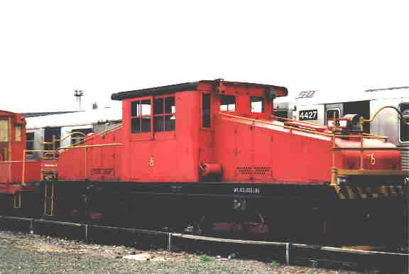 (13k, 576x386)<br><b>Country:</b> United States<br><b>City:</b> New York<br><b>System:</b> New York City Transit<br><b>Location:</b> Coney Island Yard-Museum Yard<br><b>Car:</b> SBK Steeplecab 6 <br><b>Photo by:</b> Steve Kreisler<br><b>Date:</b> 1998<br><b>Viewed (this week/total):</b> 0 / 2928