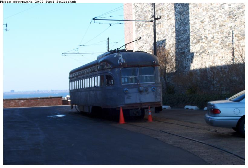 (56k, 820x556)<br><b>Country:</b> United States<br><b>City:</b> New York<br><b>System:</b> Brooklyn Trolley Museum <br><b>Photo by:</b> Paul Polischuk<br><b>Date:</b> 1/12/2002<br><b>Viewed (this week/total):</b> 0 / 4482