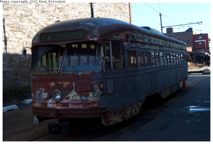 (65k, 820x556)<br><b>Country:</b> United States<br><b>City:</b> New York<br><b>System:</b> Brooklyn Trolley Museum <br><b>Photo by:</b> Paul Polischuk<br><b>Date:</b> 1/12/2002<br><b>Viewed (this week/total):</b> 1 / 5101