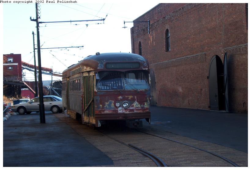 (60k, 820x556)<br><b>Country:</b> United States<br><b>City:</b> New York<br><b>System:</b> Brooklyn Trolley Museum <br><b>Photo by:</b> Paul Polischuk<br><b>Date:</b> 1/12/2002<br><b>Viewed (this week/total):</b> 6 / 6817