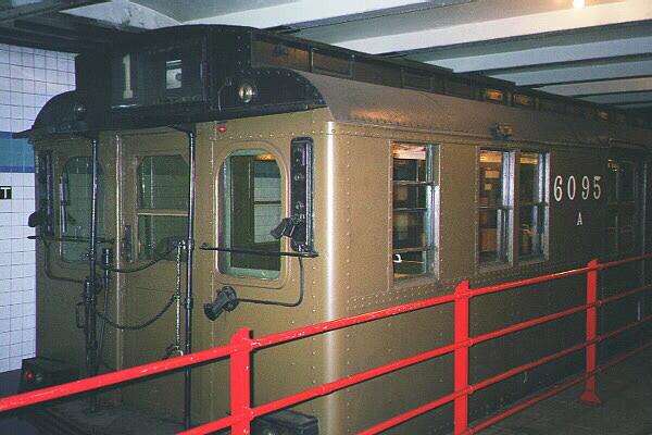 (111k, 600x400)<br><b>Country:</b> United States<br><b>City:</b> New York<br><b>System:</b> New York City Transit<br><b>Location:</b> New York Transit Museum<br><b>Car:</b> BMT D-Type Triplex 6095 <br><b>Photo by:</b> Sidney Keyles<br><b>Date:</b> 5/23/1999<br><b>Viewed (this week/total):</b> 2 / 4410