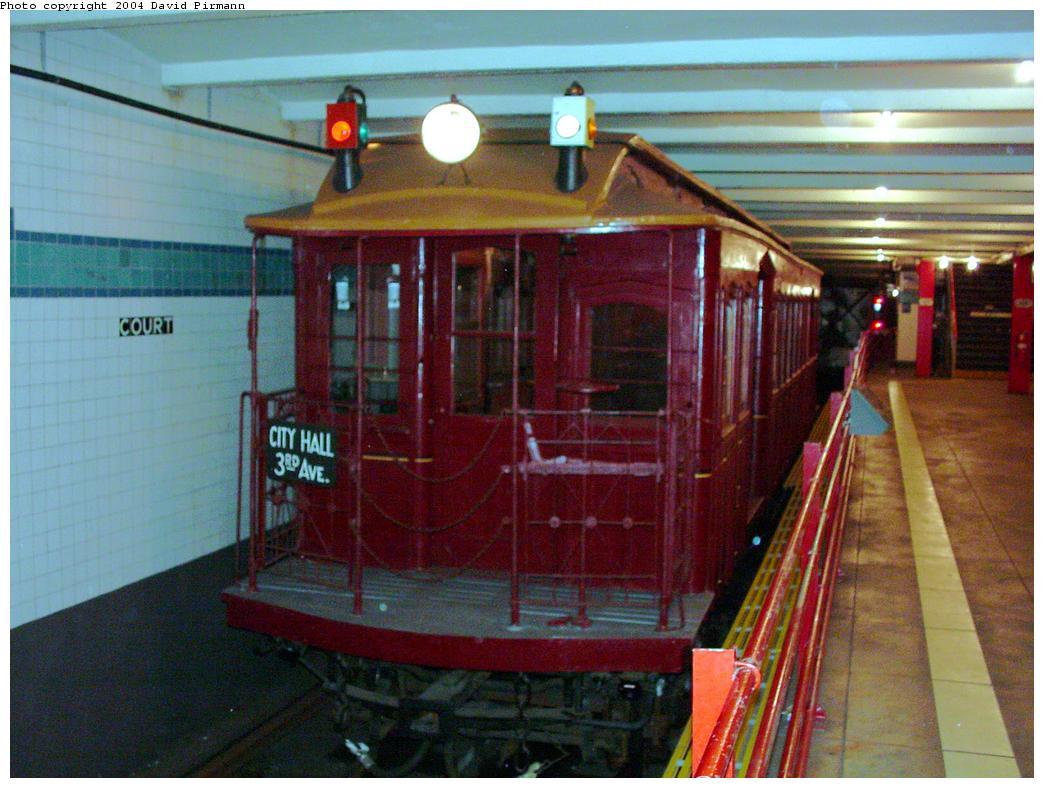 (123k, 1044x788)<br><b>Country:</b> United States<br><b>City:</b> New York<br><b>System:</b> New York City Transit<br><b>Location:</b> New York Transit Museum<br><b>Car:</b> Money Car G <br><b>Photo by:</b> David Pirmann<br><b>Date:</b> 3/12/2000<br><b>Viewed (this week/total):</b> 17 / 12951
