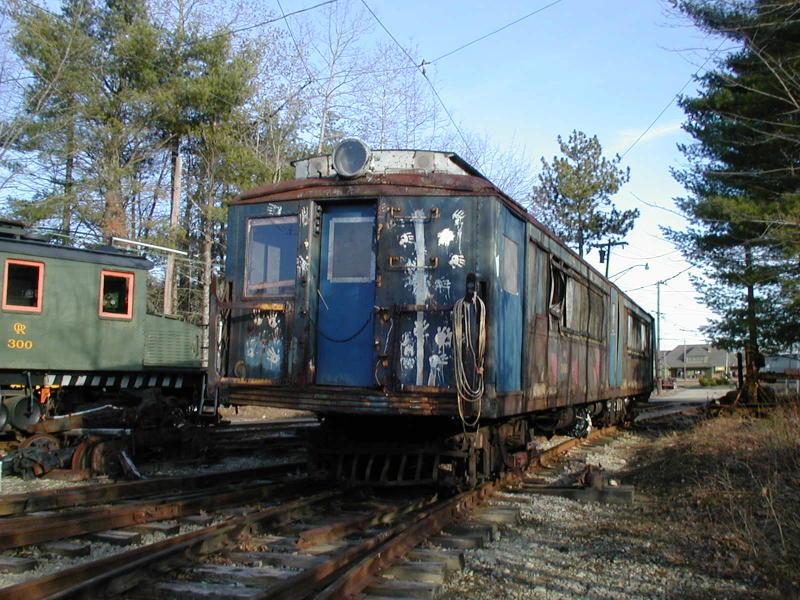 (123k, 800x600)<br><b>Country:</b> United States<br><b>City:</b> Kennebunk, ME<br><b>System:</b> Seashore Trolley Museum <br><b>Car:</b> SIRT ME-1 (Motor) 366 <br><b>Photo by:</b> Todd Glickman<br><b>Date:</b> 4/1/2000<br><b>Viewed (this week/total):</b> 2 / 4021