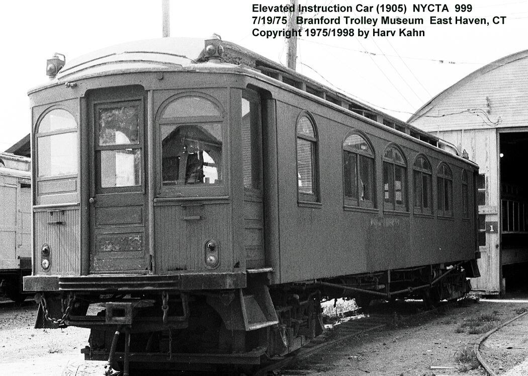 (165k, 1050x748)<br><b>Country:</b> United States<br><b>City:</b> East Haven/Branford, Ct.<br><b>System:</b> Shore Line Trolley Museum <br><b>Car:</b> BMT Elevated Gate Car 999 <br><b>Photo by:</b> Harv Kahn<br><b>Date:</b> 7/19/1975<br><b>Viewed (this week/total):</b> 4 / 5242