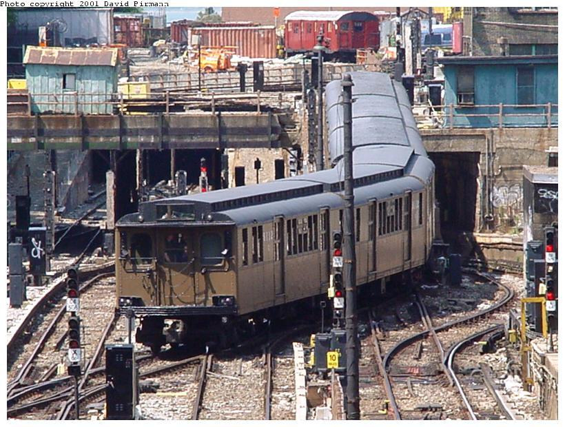 (119k, 820x620)<br><b>Country:</b> United States<br><b>City:</b> New York<br><b>System:</b> New York City Transit<br><b>Line:</b> BMT West End Line<br><b>Location:</b> 9th Avenue <br><b>Route:</b> Fan Trip<br><b>Car:</b> BMT D-Type Triplex 6112 <br><b>Photo by:</b> David Pirmann<br><b>Date:</b> 8/26/2001<br><b>Viewed (this week/total):</b> 1 / 6284