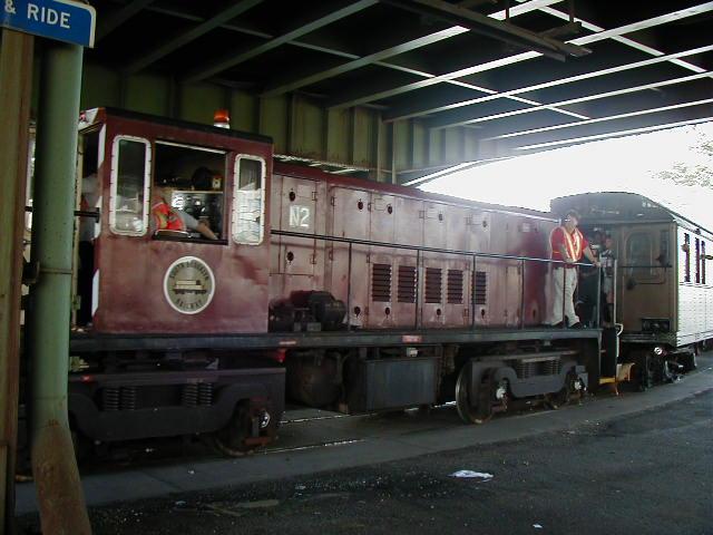 (57k, 640x480)<br><b>Country:</b> United States<br><b>City:</b> New York<br><b>System:</b> New York City Transit<br><b>Location:</b> 36th Street Yard<br><b>Route:</b> Fan Trip<br><b>Car:</b> R-47 (SBK) Locomotive  N2 <br><b>Photo by:</b> Doug Diamond<br><b>Date:</b> 8/26/2001<br><b>Viewed (this week/total):</b> 0 / 2932