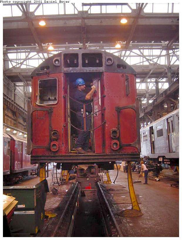 (142k, 620x820)<br><b>Country:</b> United States<br><b>City:</b> New York<br><b>System:</b> New York City Transit<br><b>Location:</b> 207th Street Shop<br><b>Photo by:</b> Daniel C. Boyar<br><b>Date:</b> 9/8/2001<br><b>Viewed (this week/total):</b> 0 / 2592