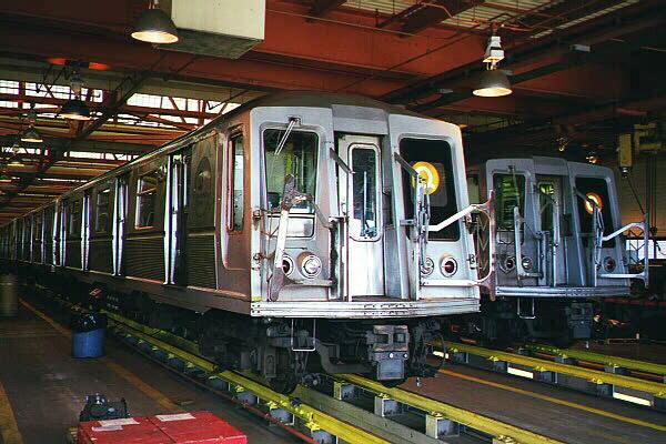 (128k, 600x400)<br><b>Country:</b> United States<br><b>City:</b> New York<br><b>System:</b> New York City Transit<br><b>Location:</b> Coney Island Shop/Maint. & Inspection Shop<br><b>Car:</b> R-40 (St. Louis, 1968)  4294 <br><b>Photo by:</b> Sidney Keyles<br><b>Date:</b> 5/22/1999<br><b>Viewed (this week/total):</b> 0 / 5166