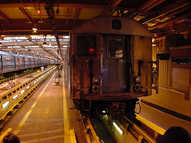 (59k, 640x480)<br><b>Country:</b> United States<br><b>City:</b> New York<br><b>System:</b> New York City Transit<br><b>Location:</b> Coney Island Shop/Maint. & Inspection Shop<br><b>Car:</b> R-32 (Budd, 1964)   <br><b>Photo by:</b> Salaam Allah<br><b>Date:</b> 10/29/2000<br><b>Viewed (this week/total):</b> 0 / 5189
