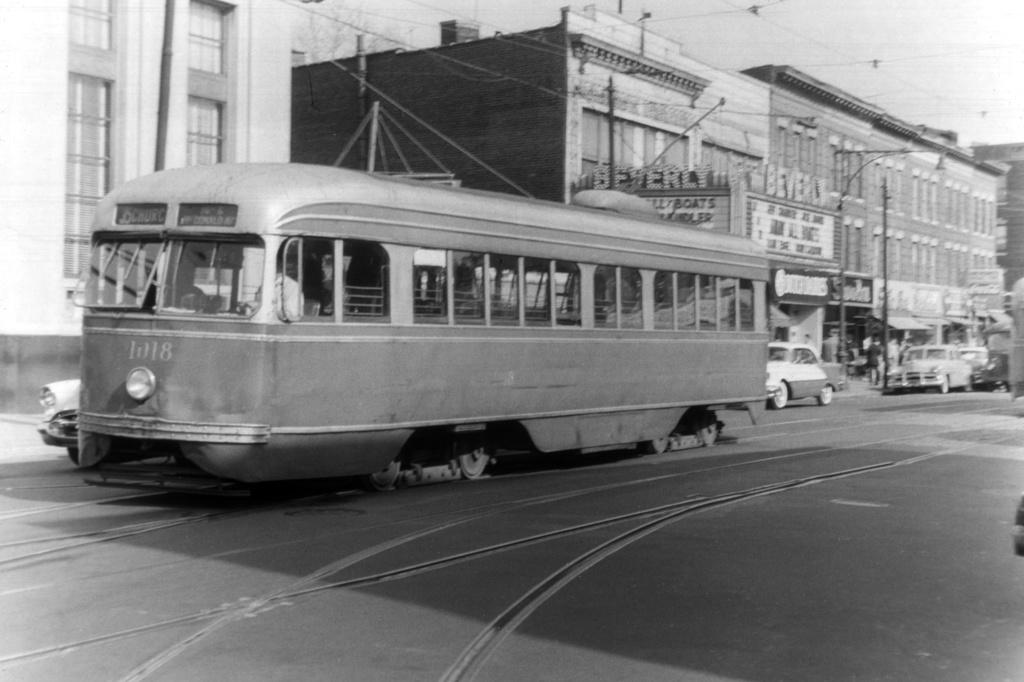(203k, 1024x682)<br><b>Country:</b> United States<br><b>City:</b> New York<br><b>System:</b> Brooklyn & Queens Transit<br><b>Line:</b> 35/Church <br><b>Location:</b> Church Ave/McDonald Ave/Beverley Rd <br><b>Car:</b> Brooklyn & Queens Transit PCC (St. Louis Car, 1936)  1018 <br><b>Collection of:</b> David Pirmann<br><b>Viewed (this week/total):</b> 1 / 1836