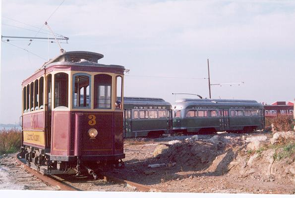 (39k, 595x400)<br><b>Country:</b> United States<br><b>City:</b> New York<br><b>System:</b> Brooklyn Trolley Museum <br><b>Car:</b>  3 <br><b>Photo by:</b> The photographer info for this photo was misplaced-use Feedback if it's yours!<br><b>Notes:</b> Photo possibly by Arthur Seifert<br><b>Viewed (this week/total):</b> 6 / 5807